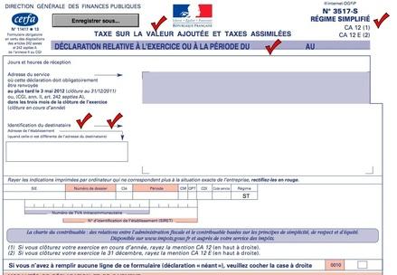 Attention Tva Ca12e Exercices Ne Cloturant Pas Au 31 Decembre